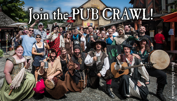 Join the Pub Crawl!